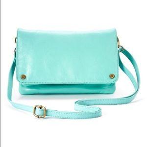 Latico Mint Carolina Leather Crossbody Bag